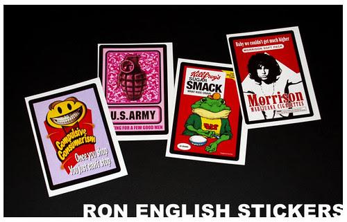 ARTHUSTLE-Ron-English-sticker