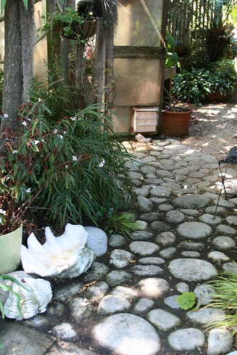 great stone paving