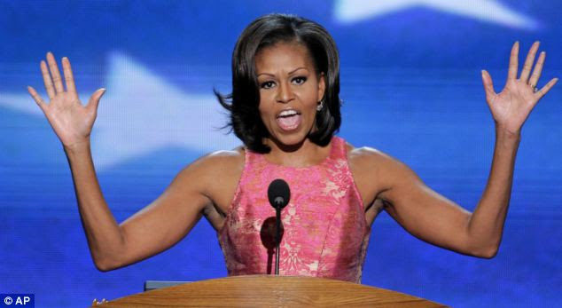 Image result for michelle obama arms