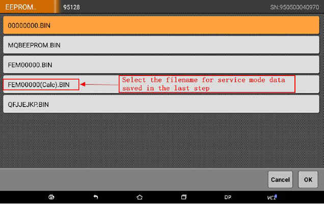 OBDSTAR X300 DP Program Smart Key for BWM FEM BDC (51)