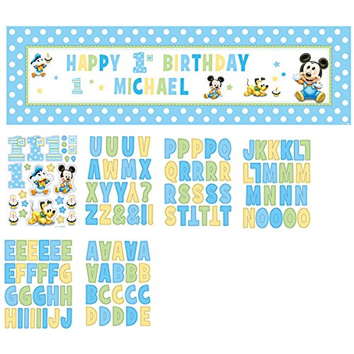 Mickey Mouse First Birthday Party Supplies Birthday Wikii