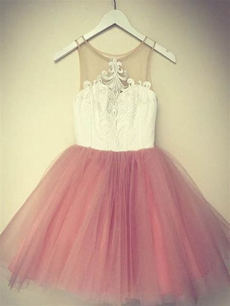 White and Blush Pink Short Homecoming Dress