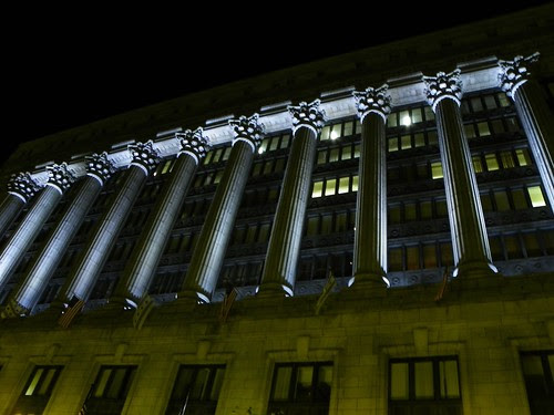 Chicago at night  9.27.2009 (28) - City Hall