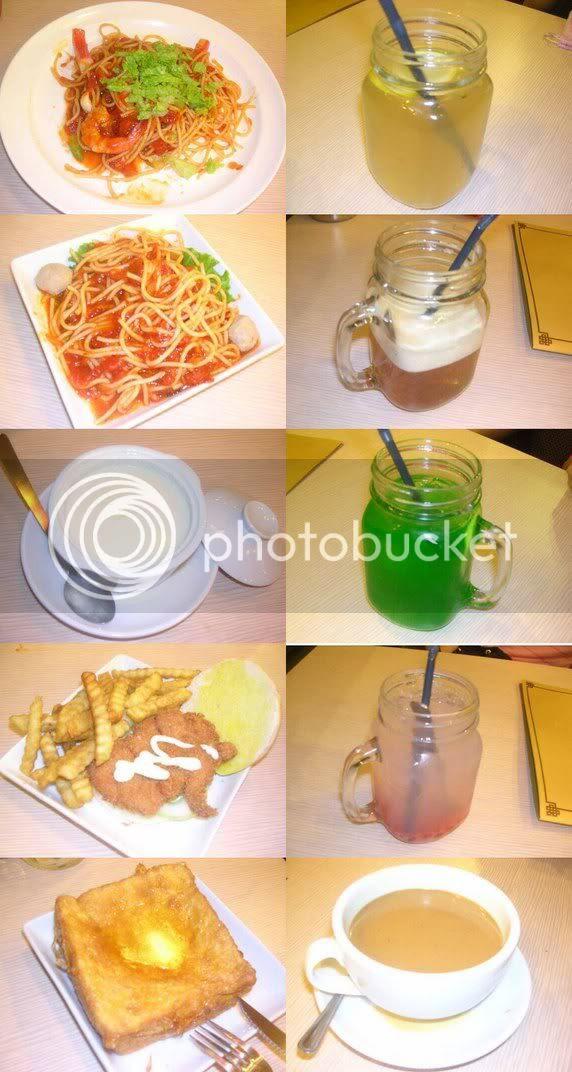 HongKie Kopitiam Dishes