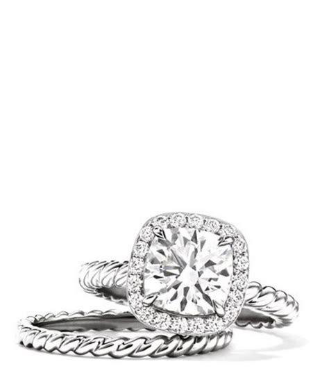 David Yurman Capri Engagement Ring.   Every Girl Needs a