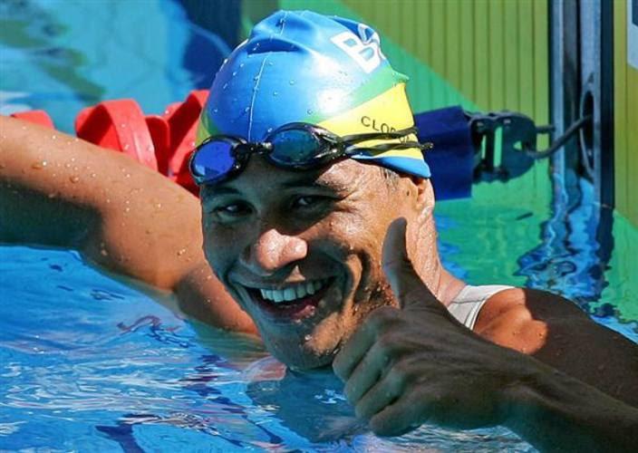Clodoaldo disputou três paraolimpíadas, aculando 13 medalhas, sendo seis de ouro