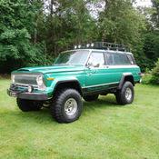 1977 Jeep Cherokee Chief Sport Wide Track 4x4 Restored ...