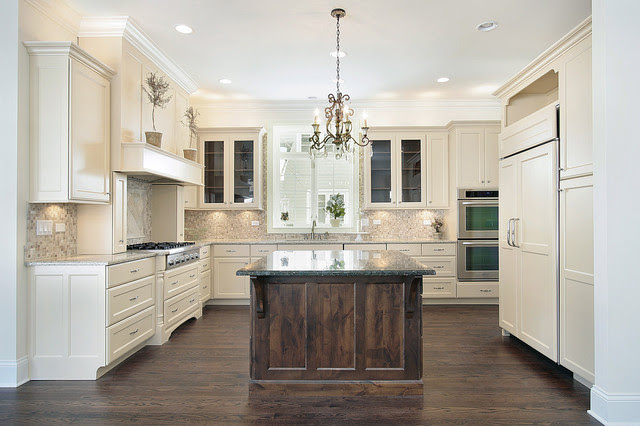 Ubatuba Granite - Traditional - kitchen - Oxford Development