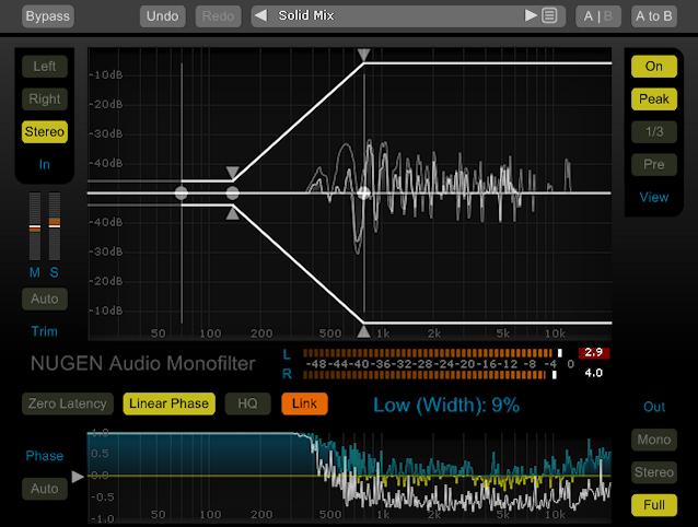 NUGEN Audio - Monofilter v4.1.15 VST, VST3, AU, RTAS, AAX