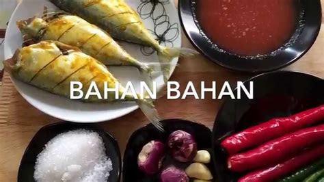 resepi ikan kembung goreng berlada noxxa youtube