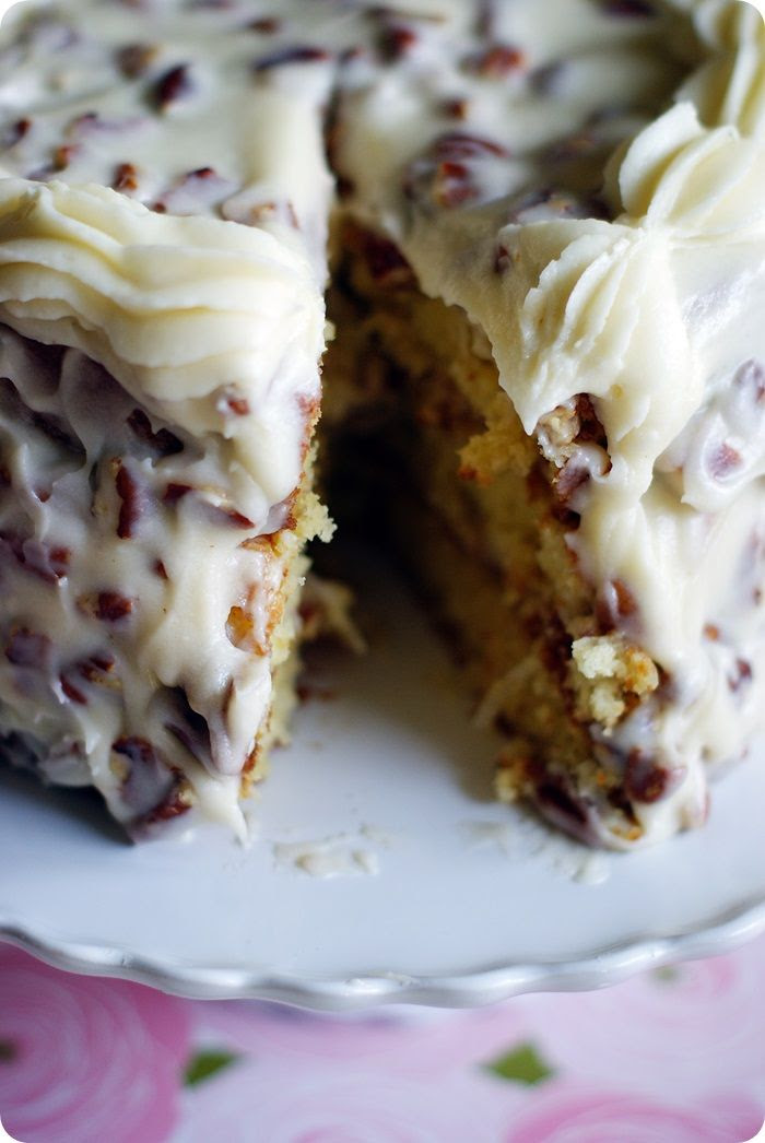 italian cream cake | bake at 350 blog