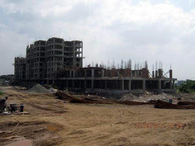 2nd slab of B Building - Neo City - Phase 3, 2 BHK Flats, behind Jain College Bakori Road, Wagholi, Pune 412207