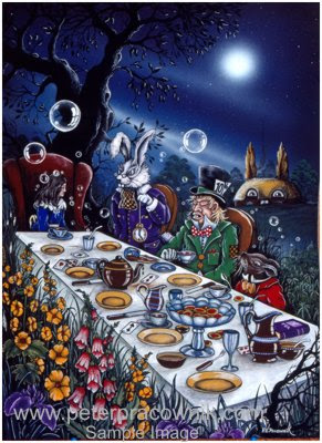 Mad Hatter Mad Hatters Tea Party Artist Peter Pracownik