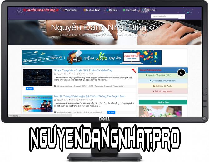 Share Template Nguyễn Đăng Nhật Blog V1