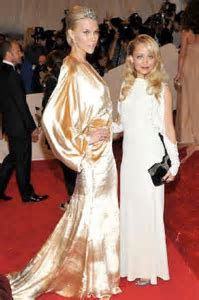 Nicole Richie Met Ball Dress   Britt Maren Winter Kate