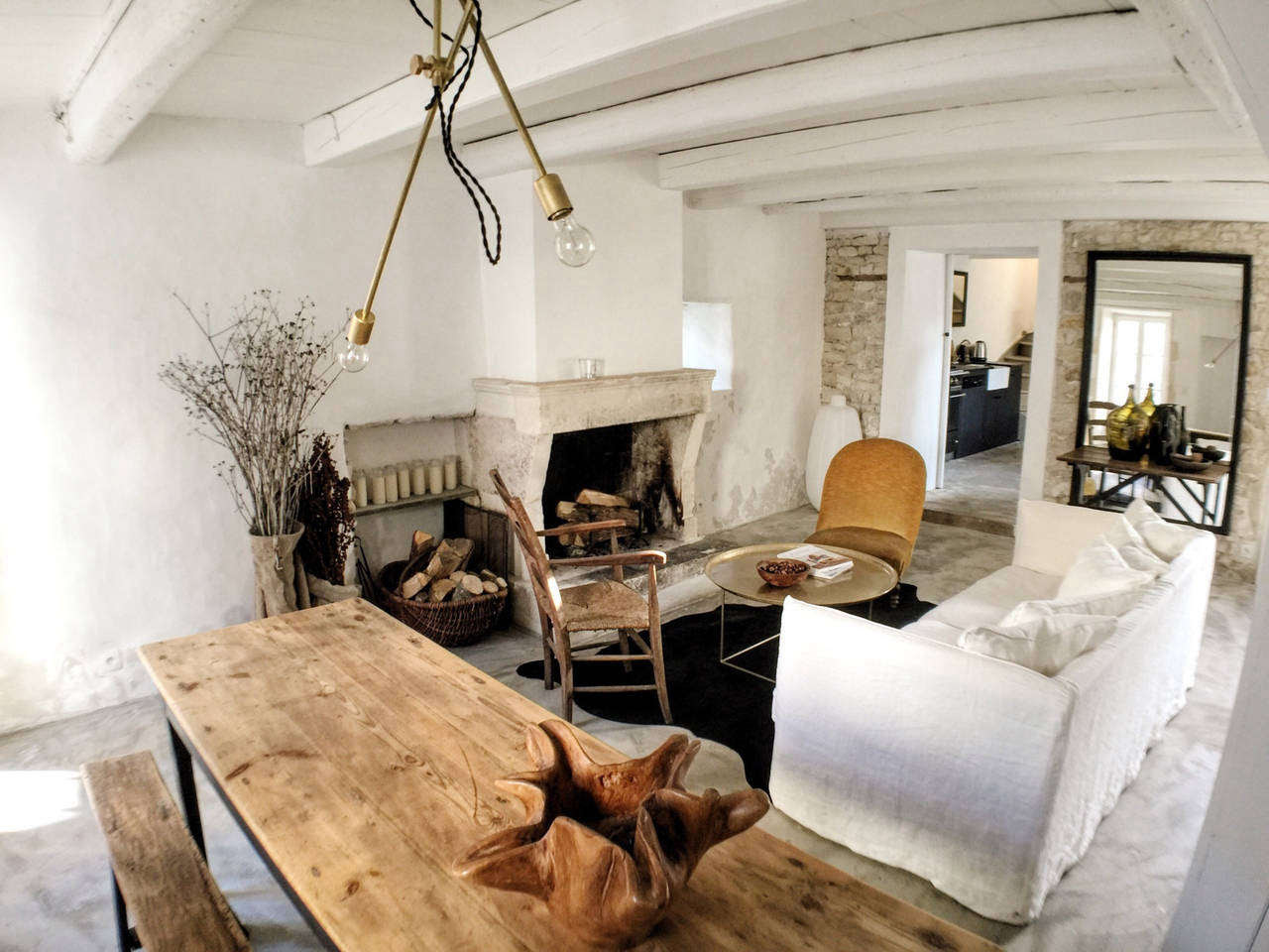 Steal This Look: Living Room at La Maison du Figuier in ...