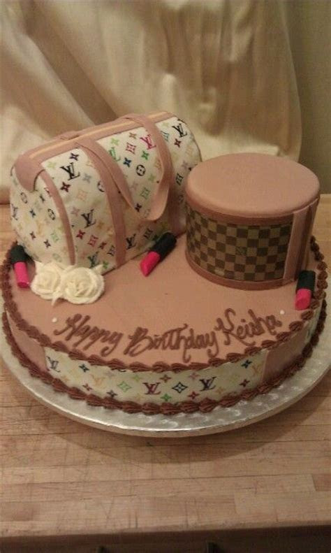 Louis Vuitton themed Birthday cake!   Wedding Cakes