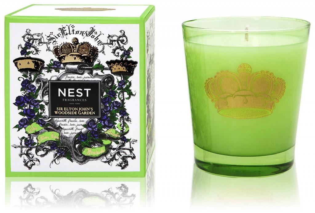 Nest Fragrances: Elton John Woodside Garden Candle | DA ...