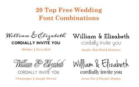 Wedding invitation fonts   massvn.com