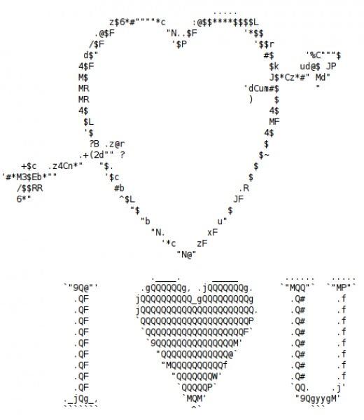 47 Ascii Symbol For Heart For Symbol Heart Ascii