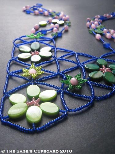 Atlantis Garden Necklace by The Sage's Cupboard