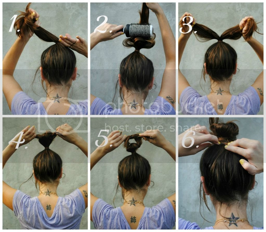 Bittyandbunny Beauty Bit How To Style A Top Knot