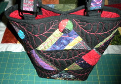 Tote with button