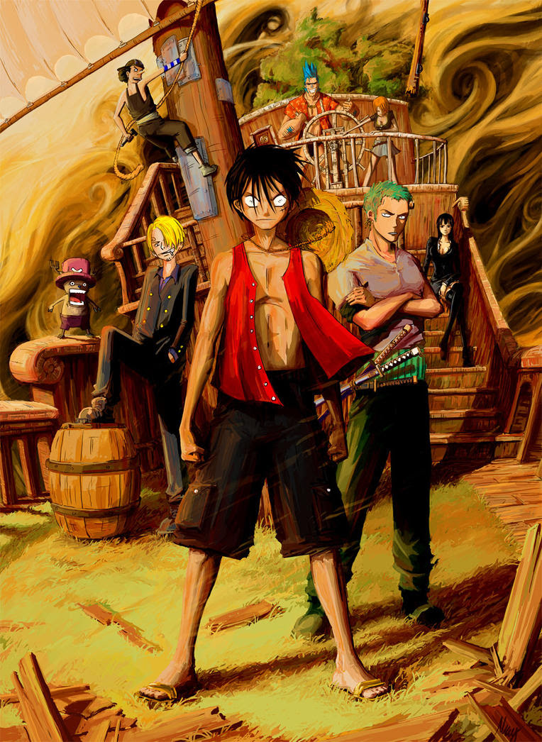 One Piece By Mzag On DeviantArt