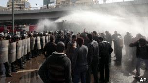 احتجاجات في القاهرة