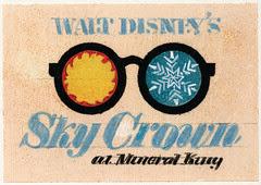 "Walt Disney's ""Sky Crown"" Logo 6"
