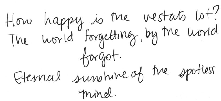 Eternal Sunshine Of The Spotless Mind Quotes Alexander Pope