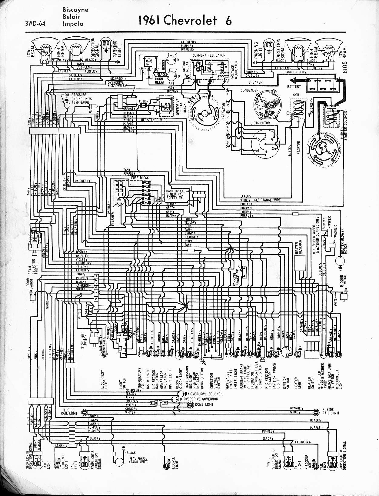 65 Mustang Tail Light Wiring Diagram Schematic