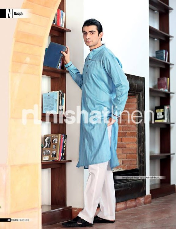 Naqsh-by-Nishat-Linen-Mens-Male-Wear-Kurta-Pajama-Shalwar-Kameez-Eid-Collection-2013-8