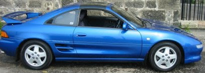 The Blue Dolphin - Toyota GT-S T bar Rev 3 95 model