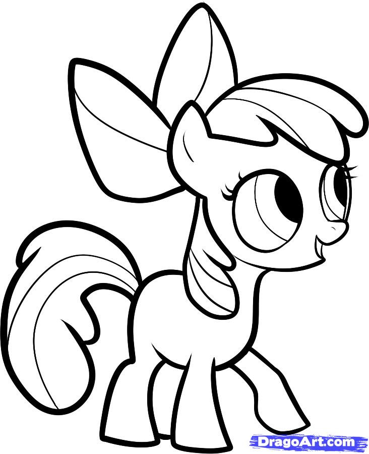 Coloriage My Little Pony Az Coloriage