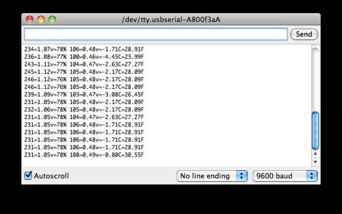 Screen Shot: XBee Wireless Serial Port