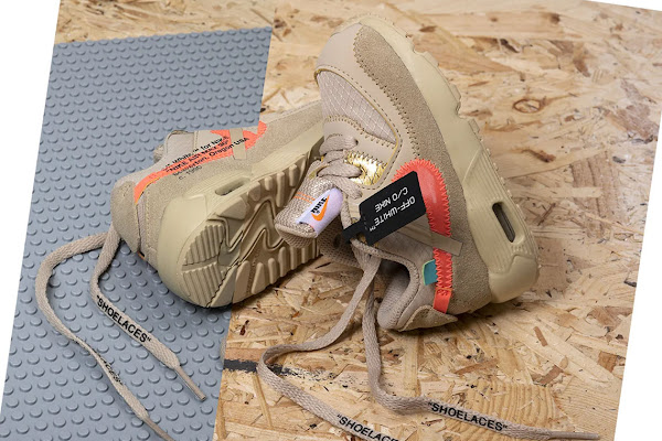 b2019e50603 The Off-White x Nike Air Max 90 For Toddlers Releases This Thursday In  Europe