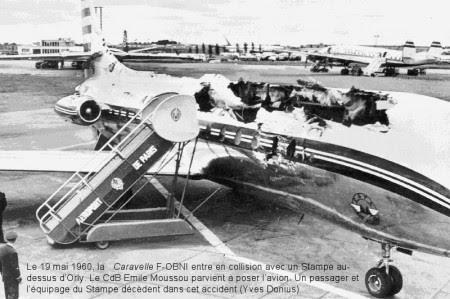 Caravelle F-OBNI de Air Algerie