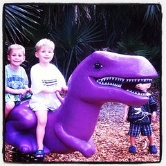 It's not a proper weekend without a dinosaur hunt!