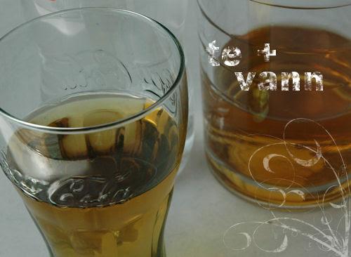 tea + water :: te + vann