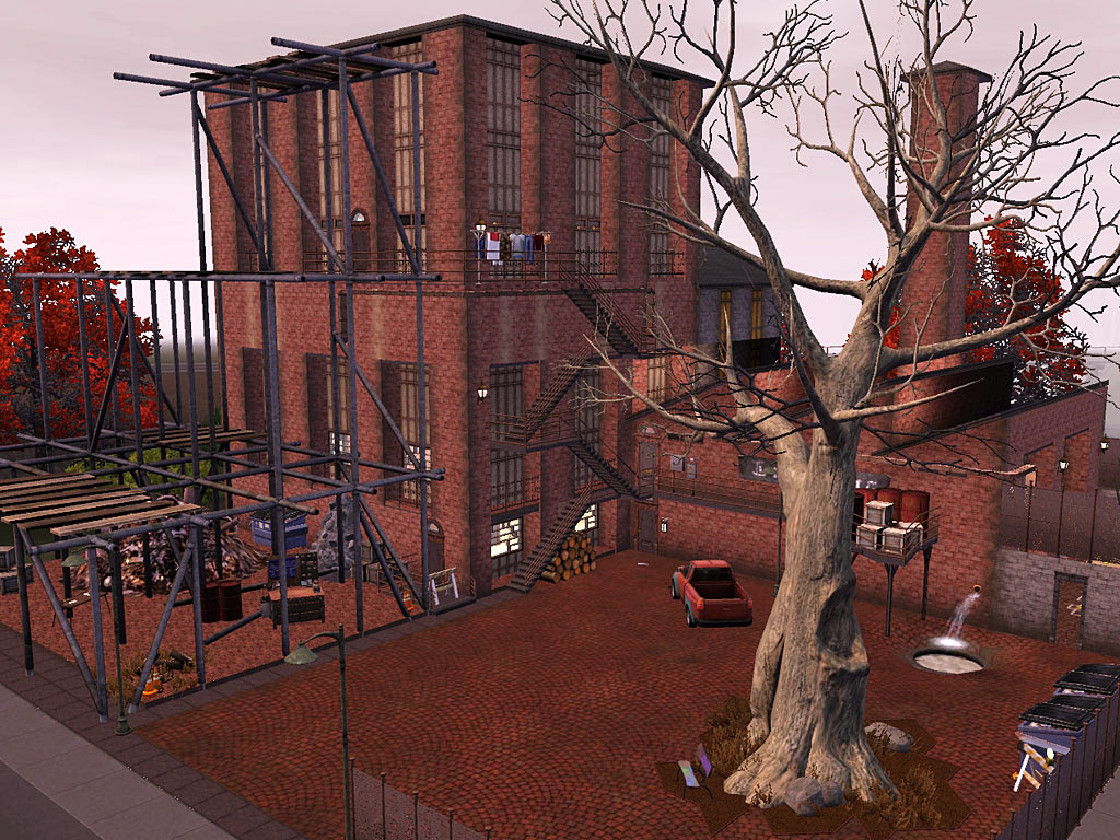 Mod The Sims - Old Factory Apartments *update 2013