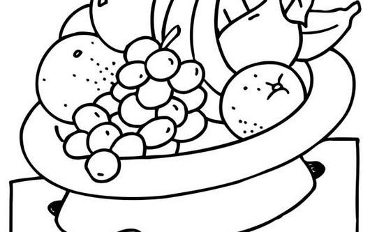 Kleurplaat Fruitschaal 2c Freunde Essen Sw The Whole Story