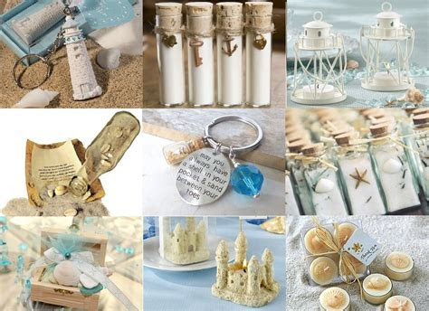 Beach Wedding Party Favors Ideas   Ideas4Weddings