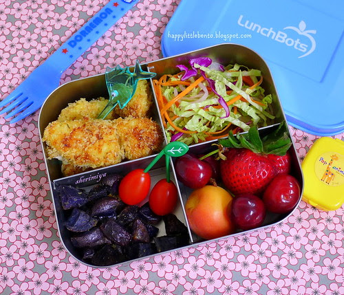 Fish Sticks Lunchbots Bento by sherimiya ♥