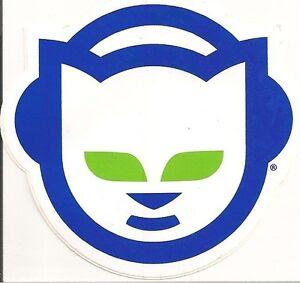 "Original Napster Logo Sticker Vinyl Decal - 3.5"" x 3.25"" RARE OOP HTF | eBay"