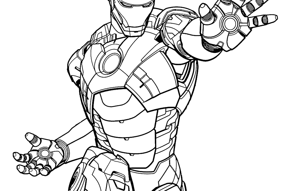 20 FREE IRON MAN AND SPIDERMAN COLORING PAGES PDF ...