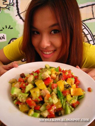yummy avocado salad