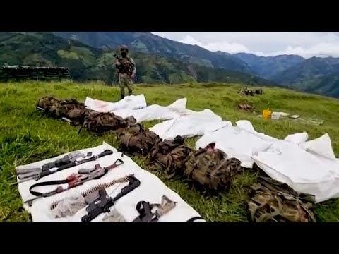 Vídeo: Un enfrentamiento deja 6 narcotraficantes muertos.