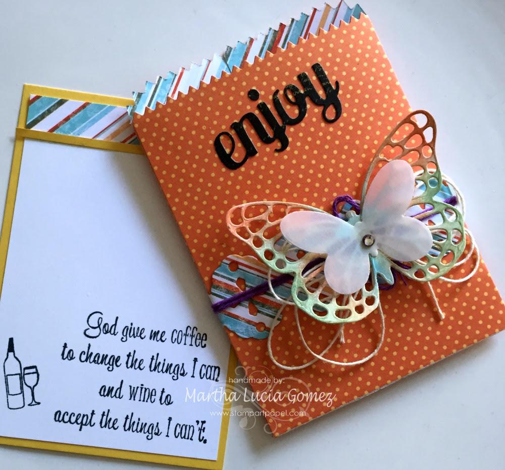 MINI TREAT BAG WITH CARD