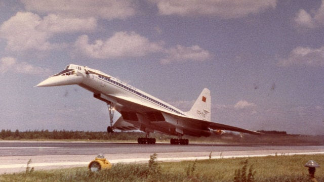 The Concorde's Soviet Older Sister That Just Couldn't Stop Crashing